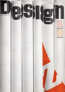 Cover for 'Design' magazine, the house journal of the Council of Industrial Design, April 1968.