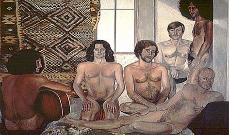 The Turkish Bath, 1973. Collection of Smart Museum, University of Chicago.