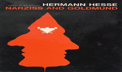Cover for Hermann Hesse 'Narziss and Goldmund', Peter Owen/Vision Press, c.1970.