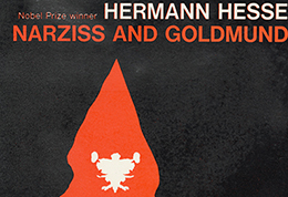 Cover for Hermann Hesse �Narziss and Goldmund�, Peter Owen/Vision Press, c.1970.