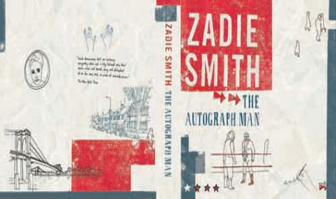 Cover design for the writer Zadie Smith