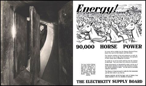 Advertising of Electricity supply board