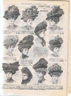 Crape hats
