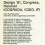 'Order form for final report from Design '81 (side 2)'. Catalogue number: ICD-2-10-3-1.2. ICSID Archive / University of Brighton Design Archives.