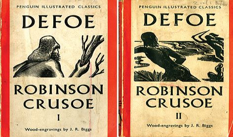 Robinson Crusoe, Penguin illustrated by John Biggs