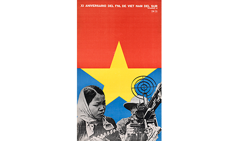 Cuba solidarity poster