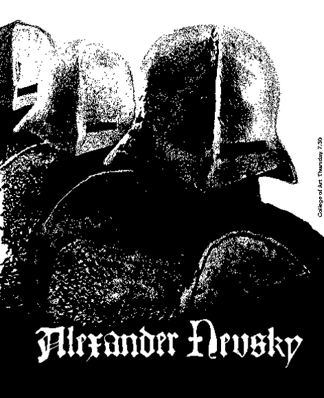 Mike Rouillard 68/69 poster for Alexander Nevsky