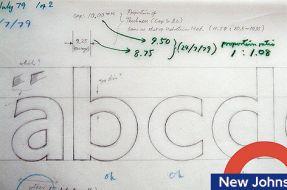 New Johnstone font