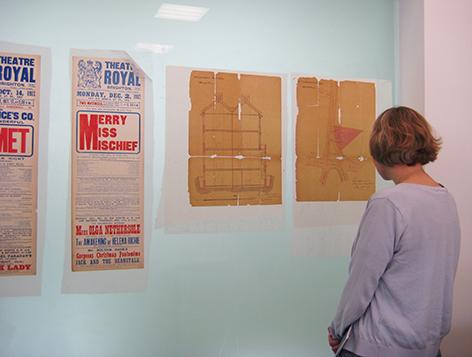 Conservation studio, The Keep, University of Brighton Design Archives