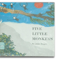Juliet Kepes Five Little Monkeys
