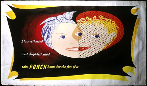 'Punch magazine poster'