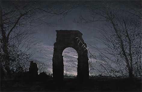 Roman Aqueduct by Emma Stibbon
