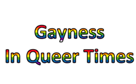 Resultado de imagen de Gayness In Queer Times