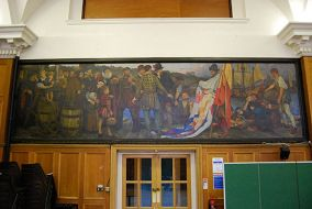 BHASVIC School Hall murals