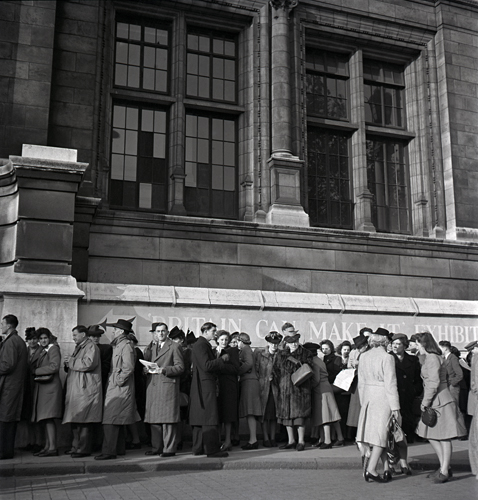 Britain Can Make It queue