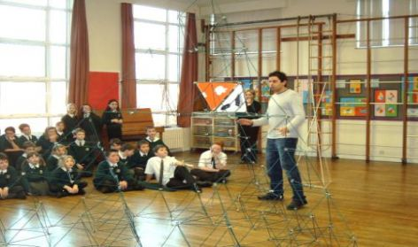DUNCAN BAKER-BROWN, 3D WORKSHOP, ST. PANCRAS SCHOOL