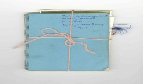 Wedding Notebook 1962,