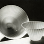 'Striped pottery bowls made by Anne Siimes at Arabia Potteries' (no date). Catalogue number: DCA-30-1-TAB-CE-IL-3. Design Council Archive / University of Brighton Design Archives.