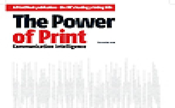 Power of Print Cover