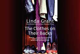 Book cover, Linda Grant's The Clothes on their Backs