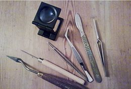 Conservation tools, University of Brighton Design Archives