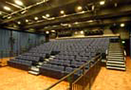 Seating, University of Brighton theatre