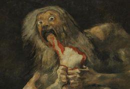 Saturno devorando a su hijo, Francisco Goya, Museo del Prado, Madrid