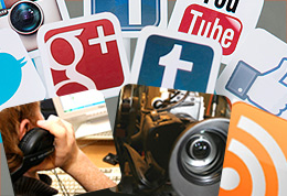 Media iconography including film, audio and social media
