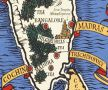 Ceylon tea map, Max Gill, University of Brighton Design Archives