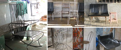 Make Do And Mend Rebar Chairs Of Cuba Inter Cultural