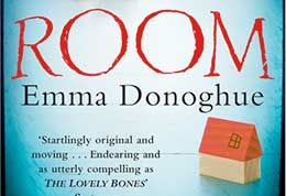 Book cover detail from Emma Donghue's novel, Room.