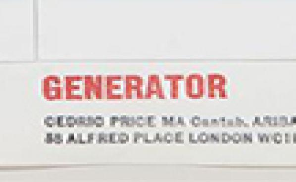Cedric Price Generator
