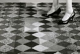 Mosaic floor from catalogue image courtesy of University of Brighton Design Archives - JISC