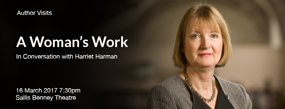 In Conversation with Harriet Harman: A Woman's Work