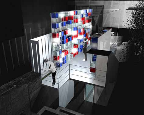 Joseph Frame (Architecture, Brighton) Objet D'art Vu Future Visions Competition Winner